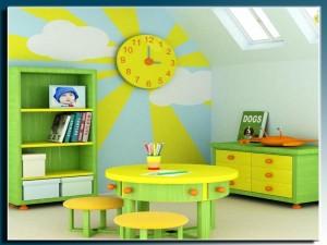 צביעה אומנותית לחדרי ילדים - די דקו